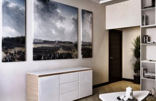 Дизайн-проект для трёхкомнатной квартиры 150 кв. м. 7