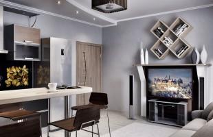 Дизайн проект трехкомнатной квартиры 70 кв.м.4