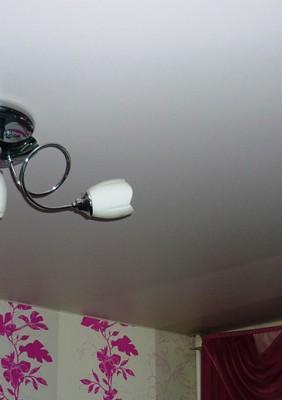 белый матовый натяжной потолок в раменское (6)