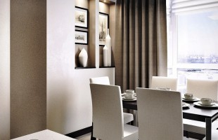 Дизайн-проект для трёхкомнатной квартиры 150 кв. м. 5