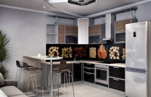 Дизайн проект трехкомнатной квартиры 70 кв.м.1