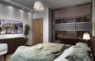 Дизайн проект трехкомнатной квартиры 70 кв.м.8
