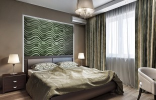 Дизайн проект трехкомнатной квартиры 70 кв.м.6