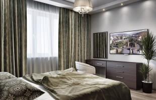 Дизайн проект трехкомнатной квартиры 70 кв.м.7