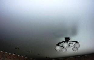 белый матовый натяжной потолок в раменское (10)