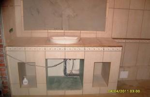 керамогранит в ванной комнате2