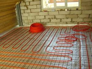Монтаж водяного и электрического тёплого пола в Раменском