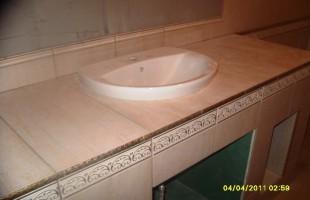 керамогранит в ванной комнате3