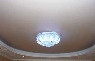 белый матовый натяжной потолок в раменское (2)