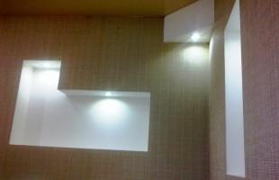 фигурные потолки из гипсокартона в раменское (5)
