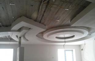 фигурные потолки из гипсокартона в раменское (4)