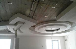 фигурные потолки из гипсокартона в раменское (11)