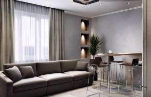 Дизайн проект трехкомнатной квартиры 70 кв.м.3