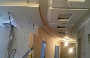 фигурные потолки из гипсокартона в раменское