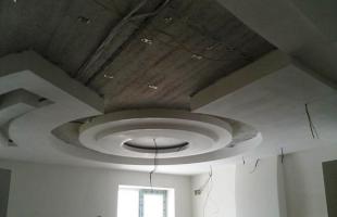 фигурные потолки из гипсокартона в раменское (10)