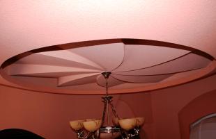 Многоуровневые потолки из гипсокартона в Раменское (8)