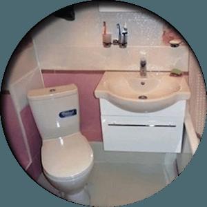 ремонт ванной и санузла в Раменском