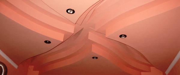 Многоуровневые потолки из гипсокартона в Раменское
