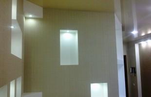 фигурные потолки из гипсокартона в раменское (17)