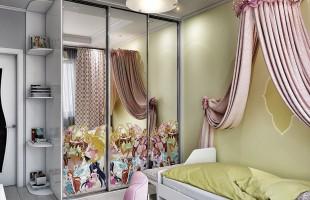 Дизайн проект трехкомнатной квартиры 70 кв.м.11