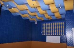 Многоуровневые потолки из гипсокартона в Раменское (3)