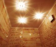 натяжные потолки в санузле в Раменском (3)